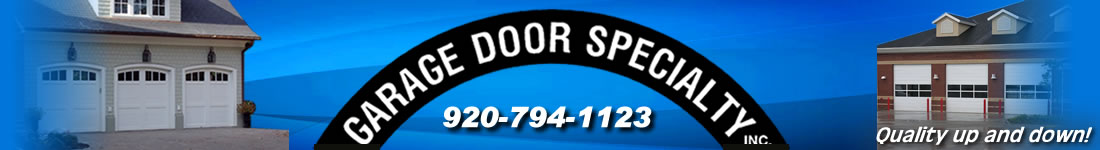 Garage Door Specialty Kewaunee Wisconsin
